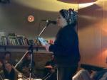 Athena Farrokhzad reading in Zagreb
