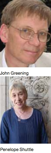 John Greening and Penelope Shuttle