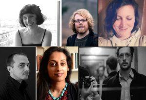 Judy Brown, John Clegg, Emma Hammond, John McCullough, Sandeep Parmar, Sam Riviere