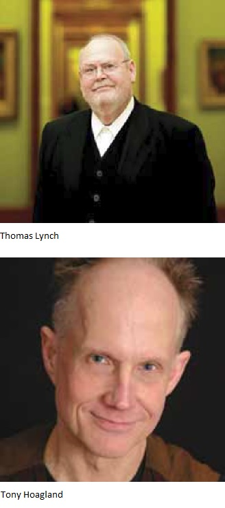 Thomas Lynch and Tony Hoagland