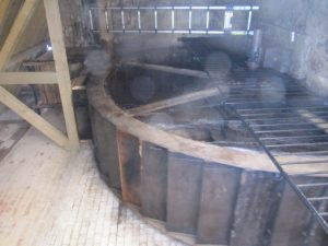 Inside Clenchers Mill