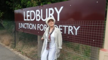 Permalink to: Ledbury: Junction for Poetry and the Poetry Chair at Ledbury Station
